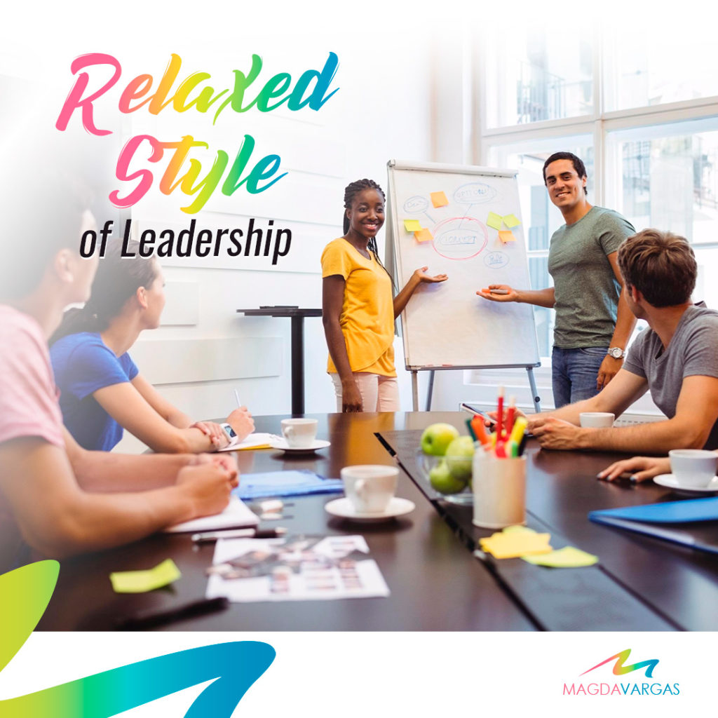 It is a relaxed style of leadership that should be applied to those leading a group of trained and knowledgeable employees.