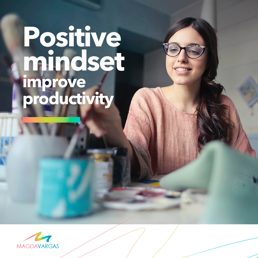 A positive mindset allows workers to embrace uncertainty and consider the different ideas of their diverse team to create a strategy based on a much more complete and creative mentality.